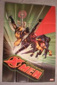 ASTONISHING X-MEN Promo Poster, 24x36, 2004, Unused, more Promos in store