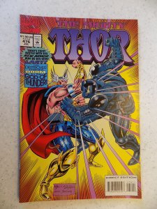 MIGHTY THOR # 476