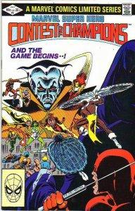 Marvel Super Hero Contest of Champions #2 (Jul-82) NM- High-Grade Daredevil, ...
