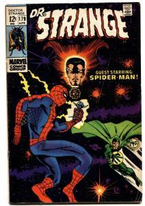 Dr Strange #179 1969- Marvel Comics- Spider-man - Ditko art