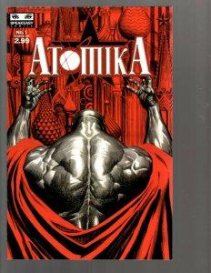 11 Comics Atomika #1 2 3 4 5 6 7 Asylum #1 1 2 3 EK22