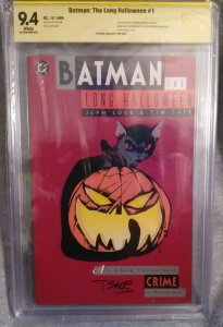 Batman The Long Halloween #1 CBCS 9.4 Signed Tim Sale