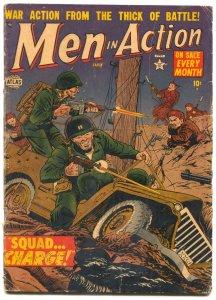 Men In Action #4 1952- ATLAS WAR COMIC- Maneely G