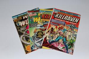 Marvel Amazing Adventures Lot of 4 - KILLRAVEN / WAR WORLDS #27-30 F/VF (HX584)