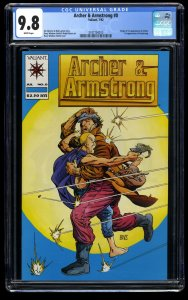 Archer & Armstrong #0 CGC NM/M 9.8 White Pages 1st Archer!  1st Armstrong!