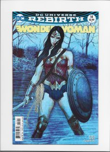 Wonder Woman #14 (2016) NM 9.4 AWESOME FRISON VARIANT COVER!! JW221