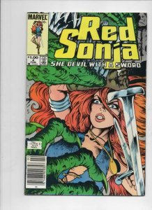 RED SONJA #4, FN/VF, She-Devil with Sword, Ernie Chan, 1983, more RS in store