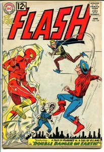 FLASH #129 1962-DC COMICS-GOLDEN-AGE FLASH APPEARS! VG