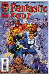 Fantastic Four   vol. 3   #34 VF