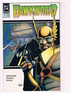 Hawkworld #6 VF DC Comics Comic Book Ostrander JLA Dec 1990 DE39 AD12
