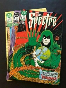 LOT OF 3-DC THE SPECTRE 2nd series #1,3-4  VF/NM (PF976)