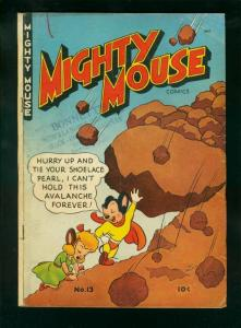 MIGHTY MOUSE #13 1949-ST JOHN COMICS-GOLDEN AGE VG