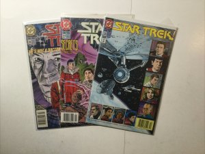 Star Trek 26 27 28 Lot Run Set Near Mint- Nm- 9.2 Dc Comics