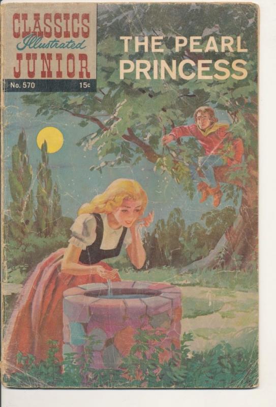 Classics Illustrated The Pearl Princess Good (2.0) 1961 (917J)