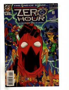 Zero Hour: Crisis in Time #4 (1994) DC Comic Superman OF8