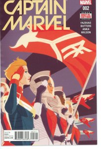 Captain Marvel 2 (2016 series) 9.0 (our highest grade)