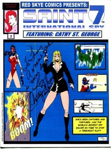 Red Skye Comics Presents #2 2004-Saint 7 International Spy-Cathy St George-NM