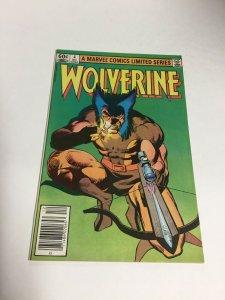 Wolverine 4 Limited Series Vf/Nm Very Fine/Near Mint 9.0 Marvel Comics
