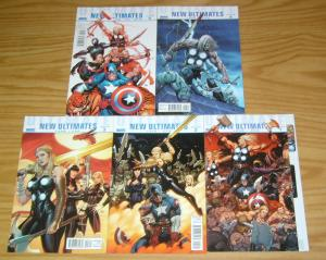 Ultimate New Ultimates #1-5 VF/NM complete series - jeph loeb - frank cho 2 3 4