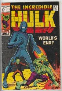 Incredible Hulk #117 (Jul-69) FN Mid-Grade Hulk