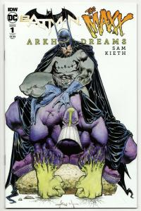 Batman The Maxx Arkham Dreams #1 Cvr B (IDW, 2018) VF/NM