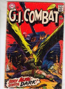 G.I. Combat #125 (Sep-67) VG Affordable-Grade The Haunted Tank