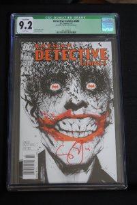 Detective Comics, 880,  CGC 9.2, Singed Scott Snyder,  very low print run,HOT!!!