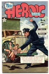 Heroic Comics #70 1952- FRAZETTA- Golden Age VG/F