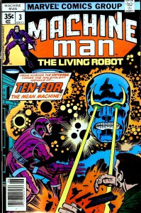 Machine Man #3 (1978)
