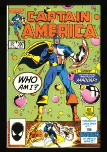 Captain America #307 NM+ 9.6 1st Madcap!