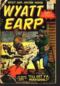 WYATT EARP #15  STAN LEE JOE MANEELY  AYRES ATLAS 1958 FR