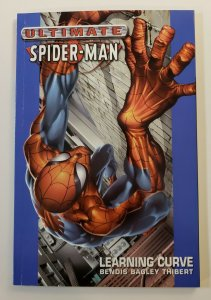 ULTIMATE SPIDER-MAN VOL.2 LEARNING CURVE TPB SOFT COVER 1ST PRINT NM