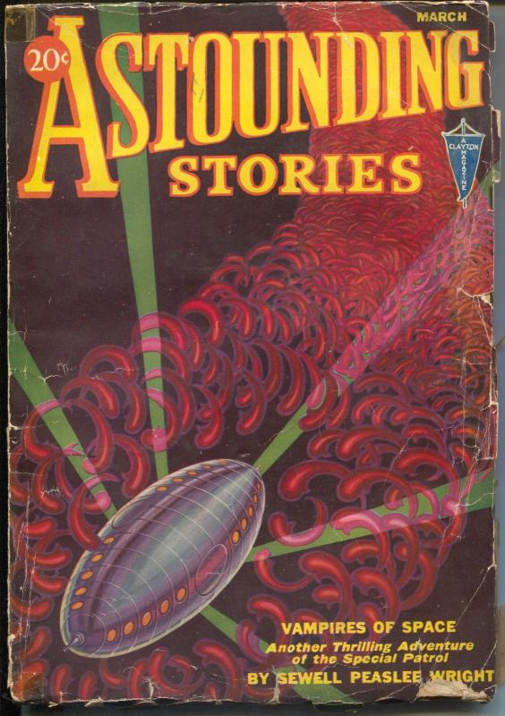 astounding stories 3 1932 clayton vires of space hammer of thor g