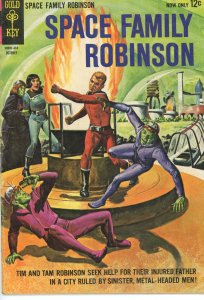 Space Family Robinson 10  VG/F  Gold Key  1964