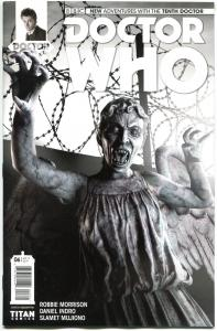 DOCTOR WHO #6 B, NM, 10th, Tardis, 2014, Titan, 1st, more DW in store, Sci-fi