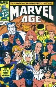 Marvel Age #32, NM- (Stock photo)