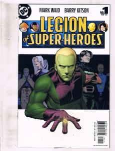 Lot of 3 Legion of Super-Heroes+The Legion DC Comic Books #1 37 38 KS5