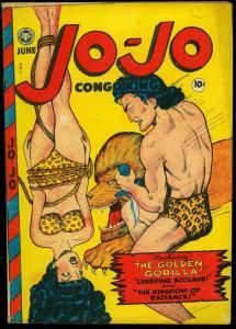 Jo-Jo Congo King #16 1948- Golden Age Fox Jungle- Lion Good Girl Cover FN/VF