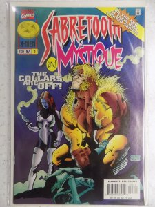 SABRETOOTH AND MYSTIQUE # 3