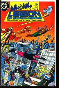Who's Who in the Legion of Super-Heroes #6 (1988)