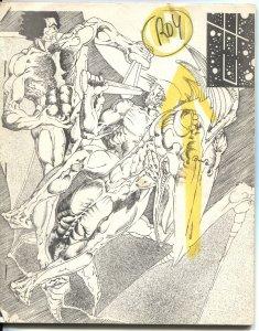 HEROES UNLIMITED #6-1968-EARLY FANZINE-PHIL SEULING-STAN LEE-DR WERTHAM-COMICS