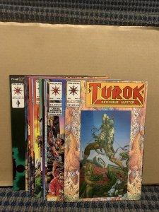 1993 TUROK THE DINOSAUR HUNTER Comics, Modern, Valiant #1 to 16 (C929)
