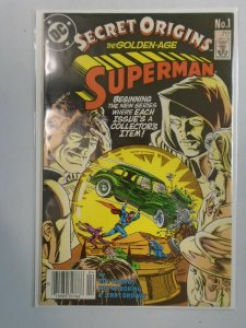 Secret Origins #1 Superman 4.0 VG (1986 2nd Series)