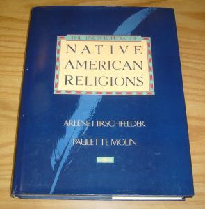 Encyclopedia of Native American Religions HC VF/NM hirschefelder hardcover book