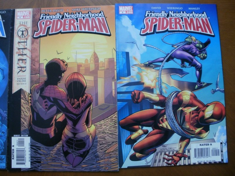 3 Marvel Comic: FRIENDLY NEIGHBORHOOD SPIDER-MAN #2 4 9 (The Other Evolve or Die