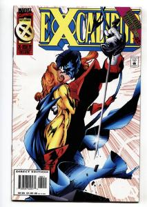 Excalibur #89-1995-Pete Wisdom / Kitty Pryde issue comic book