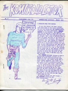 Komikollector #5 1965-mimeo zine-Rogofsky controversy-1st of 2 issues-VG/FN