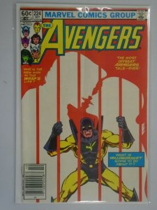 Avengers #224 Newsstand edition 5.0 VG FN (1982 1st Series)