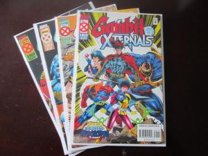 Gambit and the X-Ternals (1995) #1-4 Set - 1995
