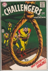 Challengers of the Unknown #64 (Nov-68) FN/VF+ High-Grade Challengers of the ...